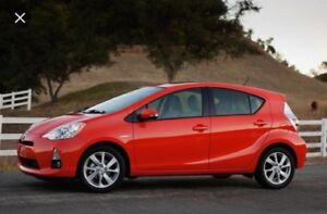 LEASE TAKEOVER 2014 Prius C HYBRID
