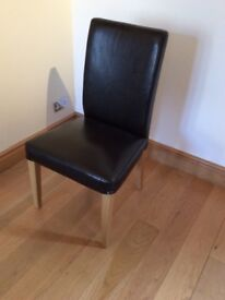 Ikea Extendable Table and two chairs