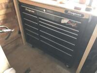 """Snap on 40"""" tool box black"""