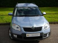 AUTOMATIC***Skoda Roomster 1.6 16v Scout Tiptronic 5dr**** 9 SERVICE STAMPS** £0 DEPOSIT FINANCE