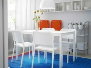 IKEA Dining Table Set (1 Table + 4 Chairs)