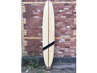 Bickers surfboard vintage longboard