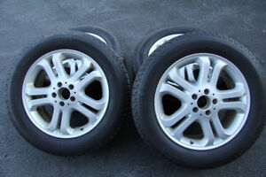 Mercedes Rims and Winter Tires
