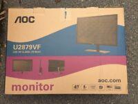New Sealed AOC U2879VF Gaming Monitor