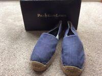Ralph Lauren men's shoes size 12 blue