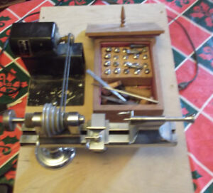 Jewellers Lathe By Perton
