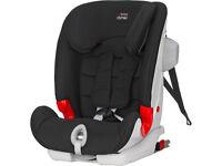 BRITAX ADVANSAFIX II SICT ISOFIX 1,2,3 Car Seat 9-36kg 9 Months-11 Yrs Black NEW