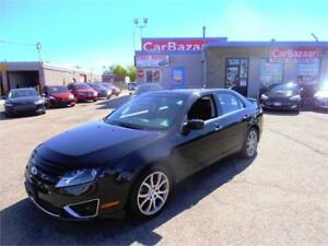 2012 FORD FUSION SEL LEATHER SUNROOF LOADED EASY CAR FINANCING