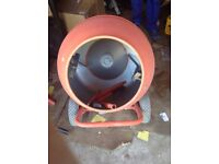 USED 134 LTR CONCRETE MIXER 230V