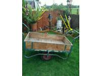 Garden allotment barrow
