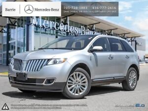 2015 Lincoln MKX AWD!