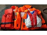 5 x Small Lifejackets / Buoyancy Aid