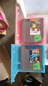Nintendo and sega genesis games