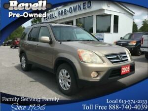 2005 Honda CR-V EX-L 4WD  *Moonroof  Leather  Alloys