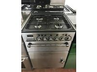 55CM STAINLESS STEEL LEISURE GAS COOKER