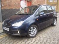 FORD FOCUS CMAX 1.8 TDCI ZETEC EURO 4 *** DIESEL *** FAMILY MPV *** 5 SEATS 5 DOOR HATCHBACK