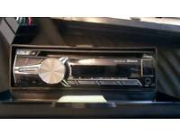 JVC bluetooth car head unit