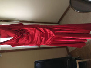 XS Red Dress ONLY $80