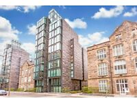 Stunning two double bedroom apartment in exclusive Quartermile area of Edinburgh.