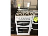 STOVES 50CM ALL GAS COOKER IN WHITE WITH LID