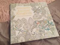 BRAND NEW NEVER USED ADULT COLOURING BOOK