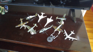 1/44 Scale Die Cast Airplanes and Helicopters
