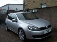 "09 59 VOLKSWAGEN GOLF 1.4 MK6 3DR 18"" GTI ALLOYS PRIVACY AIRCON F.S.H LOW INS"