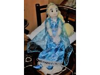 "hand crafted "" Elsa""type doll"