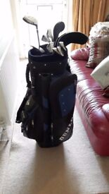 Set of Ladies Mizuno Golf Clubs complete with Dunlop bag