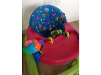 Baby Walker in colourful neutral colours boy or girl