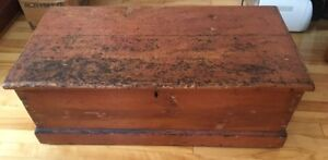 Antique Blanket Box/Wooden Chest