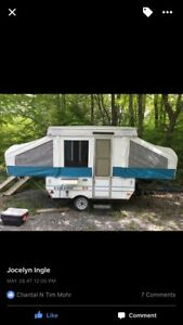 1998 Viking Pop up Tent Trailer - $1600