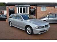BMW 5 SERIES 2.5 525D SE TOURING 5d AUTO 161 BHP 2 KEYS (silver) 2002