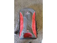 LittleLife Ultralight Convertible Child Carrier Red/Charcoal