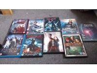 Action and Sci-fi DVD bundle