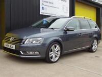 2014 (14) Volkswagen Passat 2.0 TDi 140 Executive Style Est Diesel £30 road tax