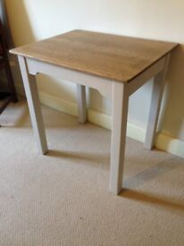 Desk / Small Table - Painted in Laura Ashley 'Soft Truffle'