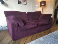 Beautiful large habitat sofa bed