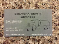 Solnicka Septic Services (Servicing Outlook & Diefenbaker Area)