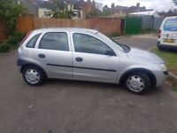 vauxhaull corsa 1.2 petrol £425 open to all offers