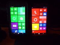 Mobile Phones x 3 Two Nokia 635 One Motorola Moto E Second Generation