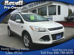 2014 Ford Escape SE 4WD   *1-owner   Leather Nav Power Liftgate