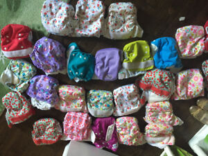 26 Excellent condition cloth diapers