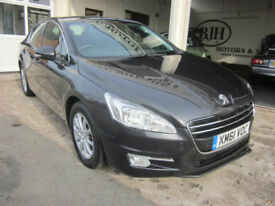 2011 Peugeot 508 2.0HDi ( 163bhp ) ****FULLY LOADED STYLISH SALOON****