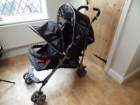 double buggy/pushchair 'cosatto'