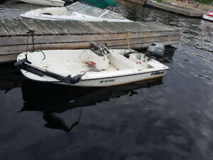 30 hp motor with a wahoo boat