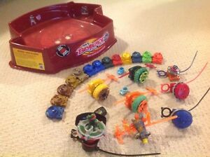 Beyblade Max Stadium + beyblades and MORE