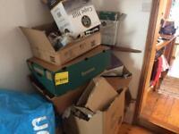 Free cardboard boxes