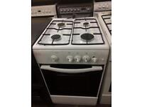 White swan 50cm gas cooker grill & oven good condition with guarantee bargain