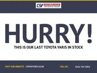 2015 65 TOYOTA YARIS 1.3 VVT-I ICON 5D 99 BHP